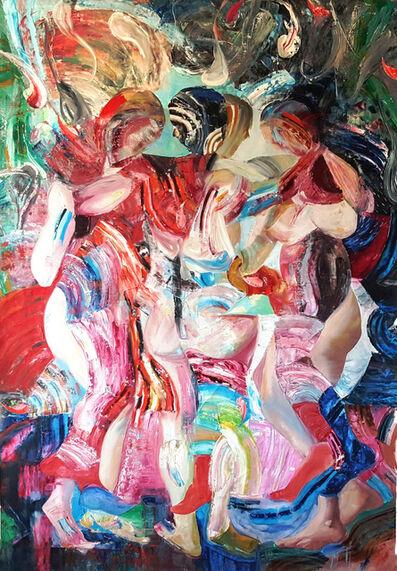 Dimitar Hinkov, 'The Three Graces after Rubens - III', 2020