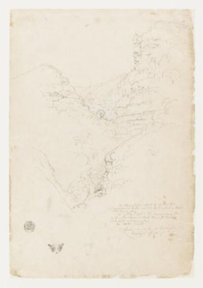 Frederic Edwin Church, 'Tequendama Falls near Bogotíç, Colombia', 1853