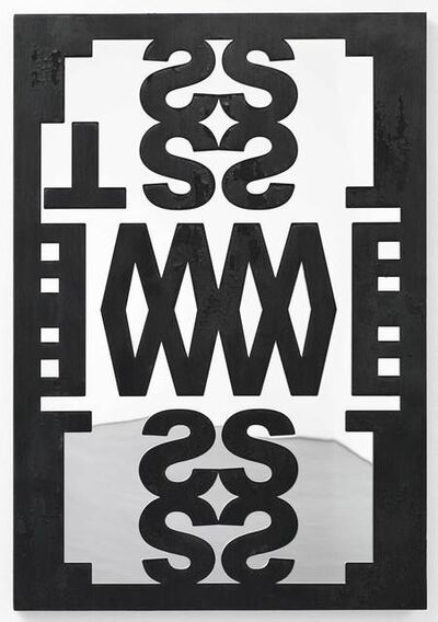Kendell Geers, 'Four Letter Brand (West)'
