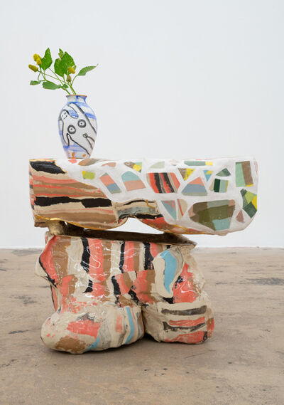 Katie Stout, 'Slab Stool (Florida Mosaic)', 2020