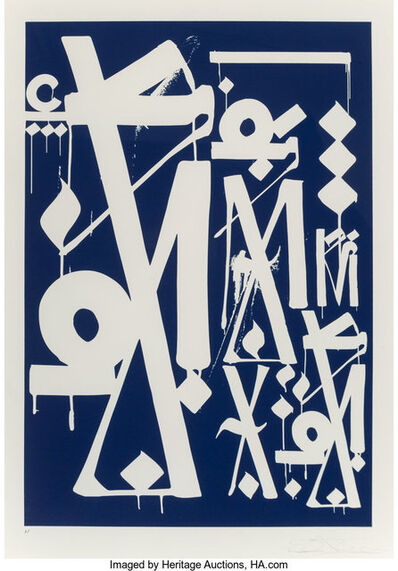 RETNA, 'Untitled, from Art Alliance Provocaturs Edition', 2014