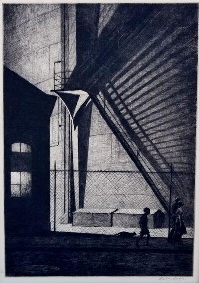 Martin Lewis, 'Shadow Magic', 1939