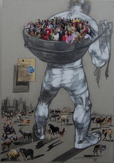 Dawit Abebe, ' Mutual Identity 27', 2000