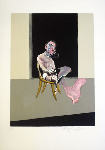 Francis Bacon, 'Triptych August 1972 (Right Panel)', 1972