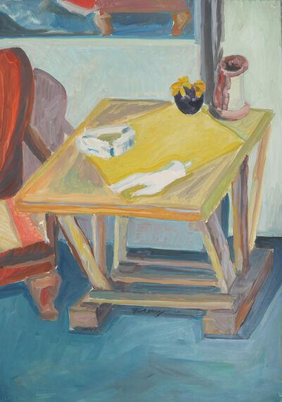 Norbert Tadeusz, 'O. T. (Gelber Tisch)', 1964