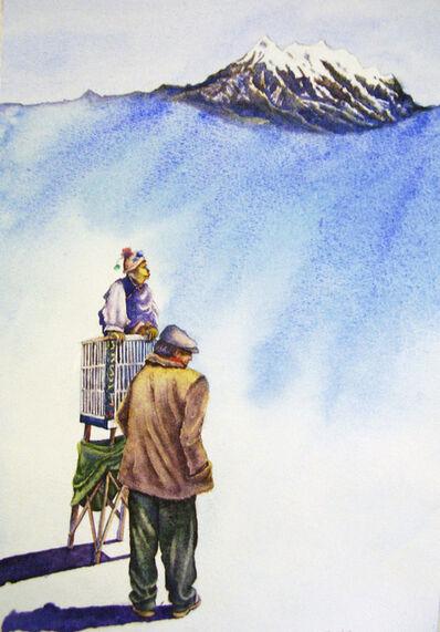 Emilio Torrez, 'Illimani and the fortune teller', 2013