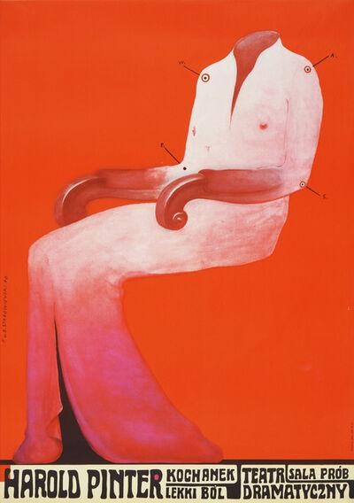 Franciszek Starowieyski, 'The Loved One - Harold Pinter', 1970