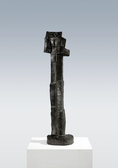 Fritz Wotruba, 'Standing figure (with raised arms)', 1958