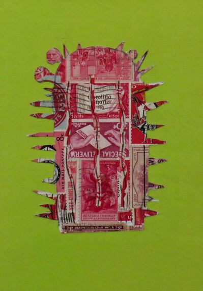 Frederick Fulmer, 'Stamp Cactus Red', 2017