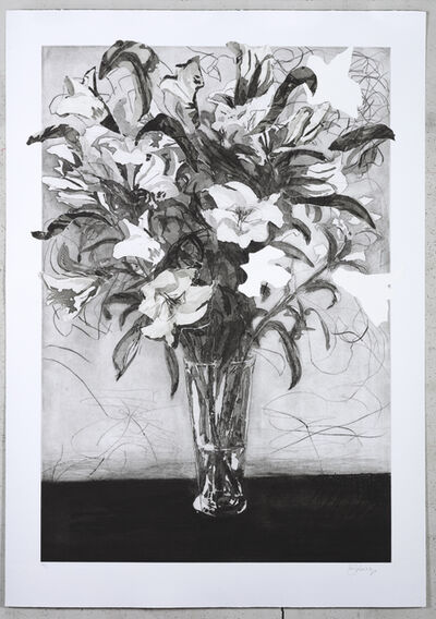 William Kentridge, 'Lilies', 2020