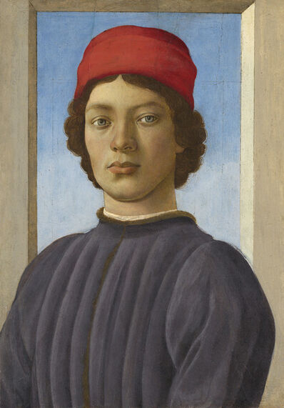 Filippino Lippi, 'Portrait of a Youth', ca. 1485
