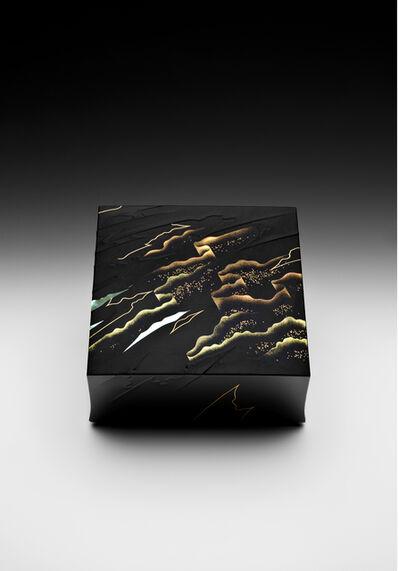 """Yoshio Okada, '""""Polar Lights"""" Maki-e Lacquer Box (T-4022)', 2016"""