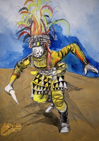 Ben Enwonwu MBE, 'Ogolo', 1989