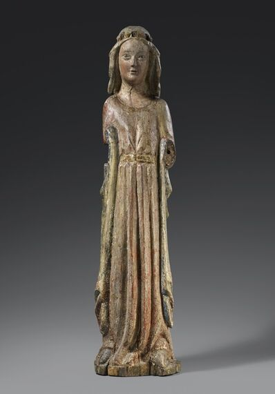 Unknown, 'Coronated Saint', Around 1270