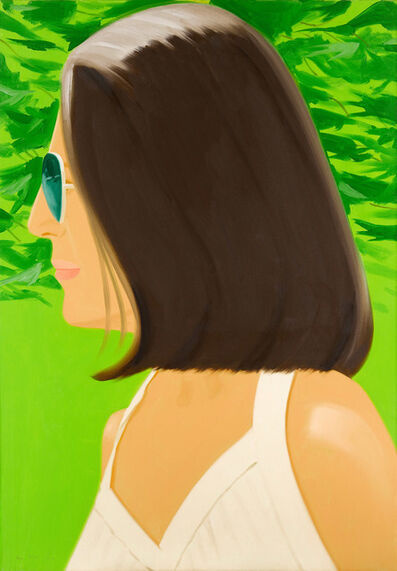 Alex Katz, 'Ada in Spain', 2018