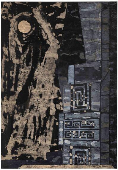 Pino Pascali, 'Bozzetto Scenografico', 1958