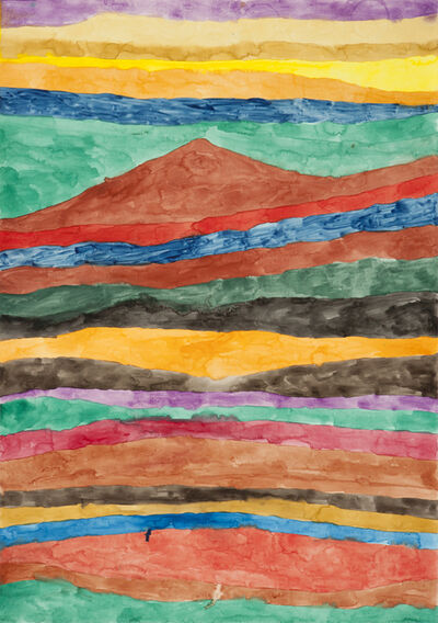 Moshekwa Langa, 'Untitled (Red Mountain)', 2002