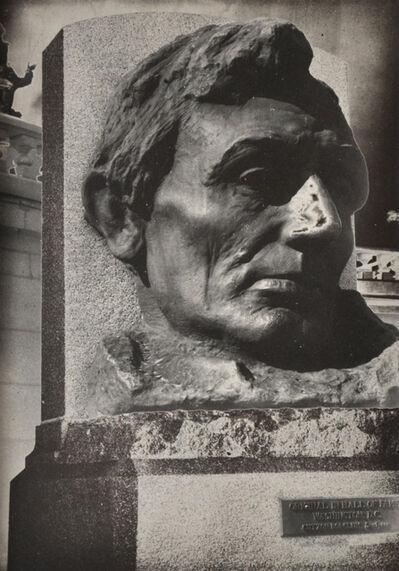 Edmund Teske, 'Springfield, IL (Bust of Abraham Lincoln)', 1953