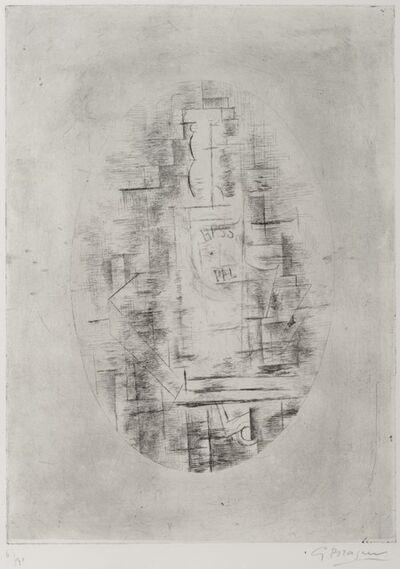 Georges Braque, 'Pal (Bouteille de bass et Verre sur une table)', 1911-printed in 1954