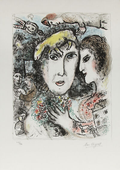 Marc Chagall, 'The Artist's Family', 1972