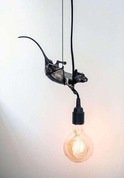 Hama Woods, 'Rat giving light (hanging)', 2018