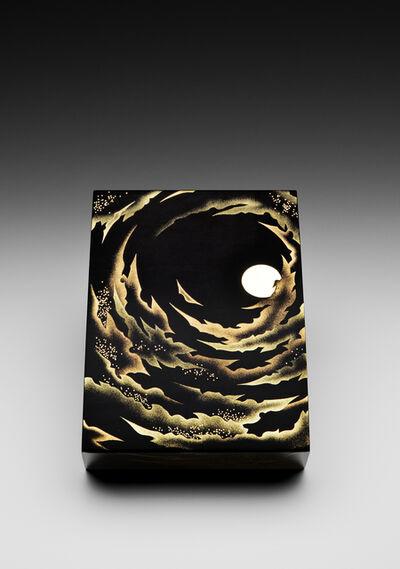 """Yoshio Okada, '""""Night Sky, Glittering Moon"""" Maki-e Lacquer Box (T-4021)', 2016"""