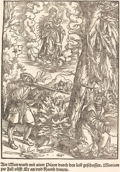 Master of the Miracles of Mariazell, 'Ain Man ward mit ainer Puren ...', ca. 1503