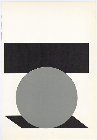 Victor Vasarely, 'Serigraph with cut-out (form the Geh durch den Spiegel portfolio)', 1961
