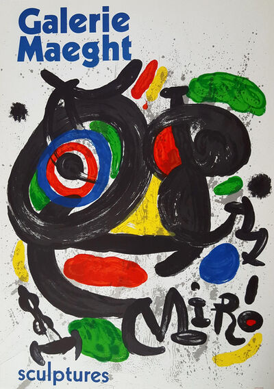 Joan Miró, 'Galerie Maeght - Sculptures - Exhibition Poster', 1970
