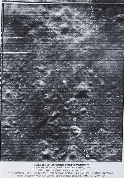 NASA, 'Lunar Surface', 1967