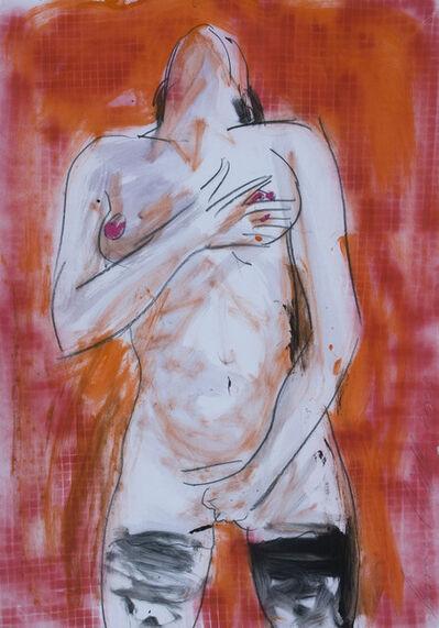 Luciano Castelli, 'Roter Frauenakt', 2003