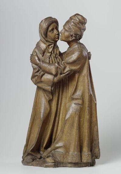 The Master of Joachim and Anna, 'The Meeting of Joachim and Anna', ca. 1470