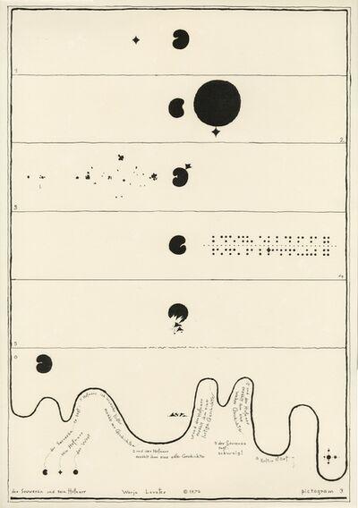 Warja Lavater, 'Pictogram 3', 1976