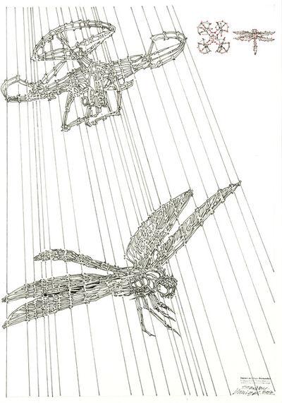 Duvier del Dago, 'Sketch for installation object of exhibition STANDBY', 2017