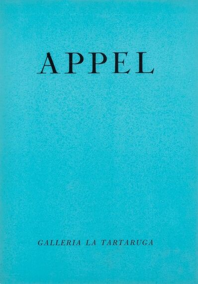 Karel Appel, 'Appel', 1957