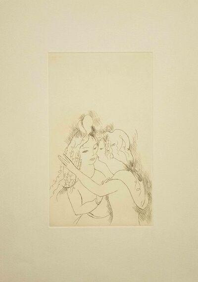 Marie Laurencin, 'Embracing', ca. 1970
