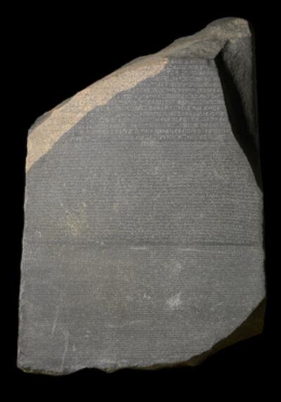 'The Rosetta Stone', 196 BCE
