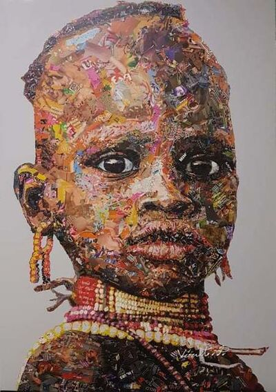 Virut Panchabuse, 'African Colors', 2019