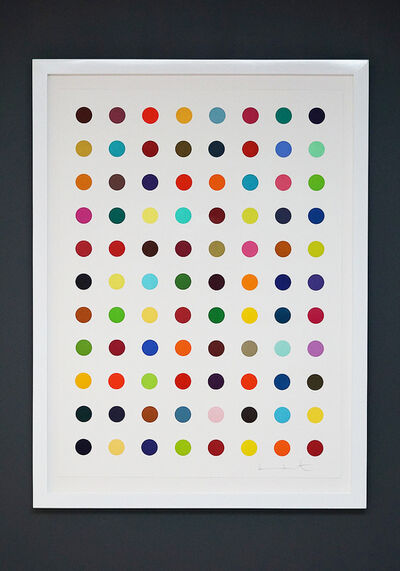 "Damien Hirst, 'Multi-Color ""Spots""', 2018"