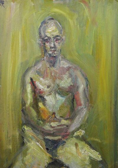 Richard Fitton, 'Adam seated semi-nude', 2021