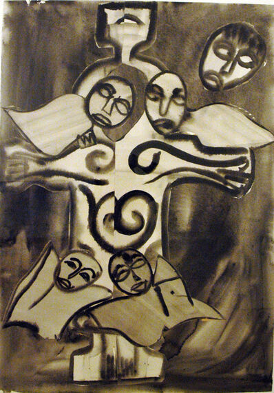 Grace Hartigan, 'Celtic Saint', 1982