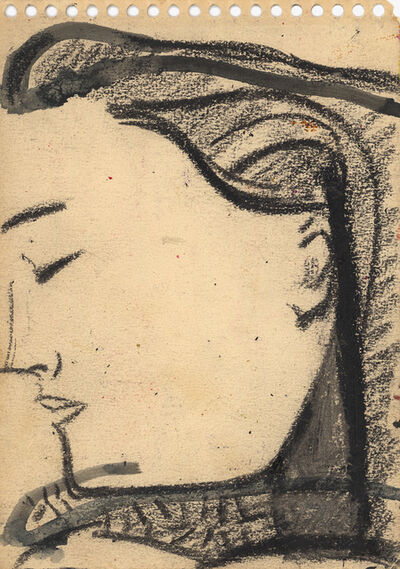 Will Barnet, 'Early Study of Elena 2'
