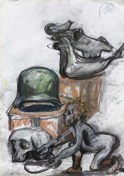 Markus Lüpertz, 'Ohne Titel (Untitled) ', 2014