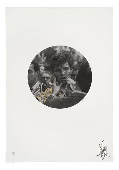 Nina Mae Fowler, 'Bull (Fever) - Gold Leaf Embellishments', 2011