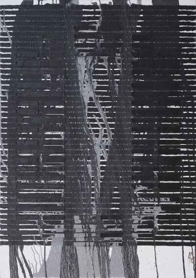 Huang Rui 黄锐, 'Balck 0', 2017