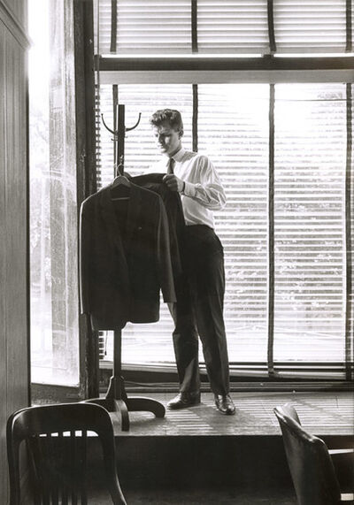 Vytas Valaitis, 'Ted Kennedy  Putting on His Jacket', 1960s/1960s