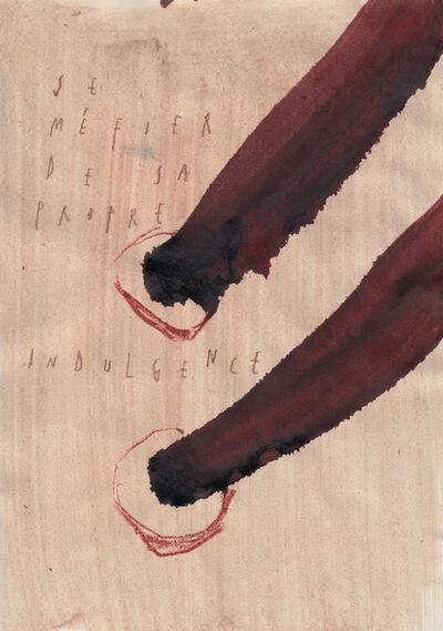 ARPAÏS du bois, 'Se méfier de sa propre indulgence', 2016