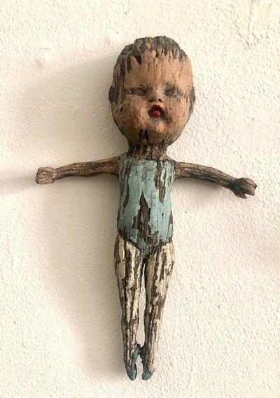Margaret Keelan, 'Tiny Dancer with Blue Shoes', ca. 2019