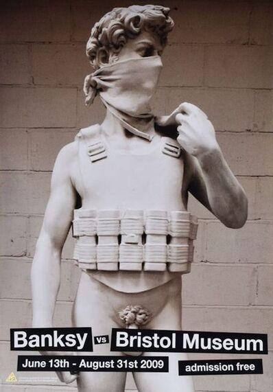Banksy, 'Banksy V Bristol Museum: David', 2009