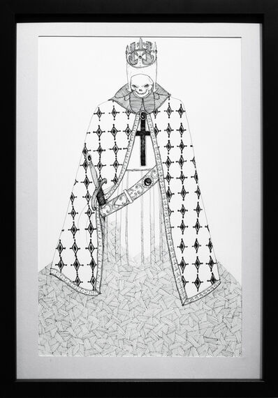 Kate Glasheen, 'Dead King 7 [14th Century English Lord]', 2018